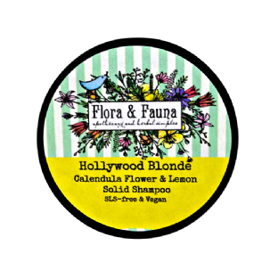 Hollywood Blonde Solid Shampoo Bar VEGAN SLS-Free
